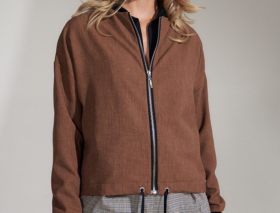 Jacket M733 Brown