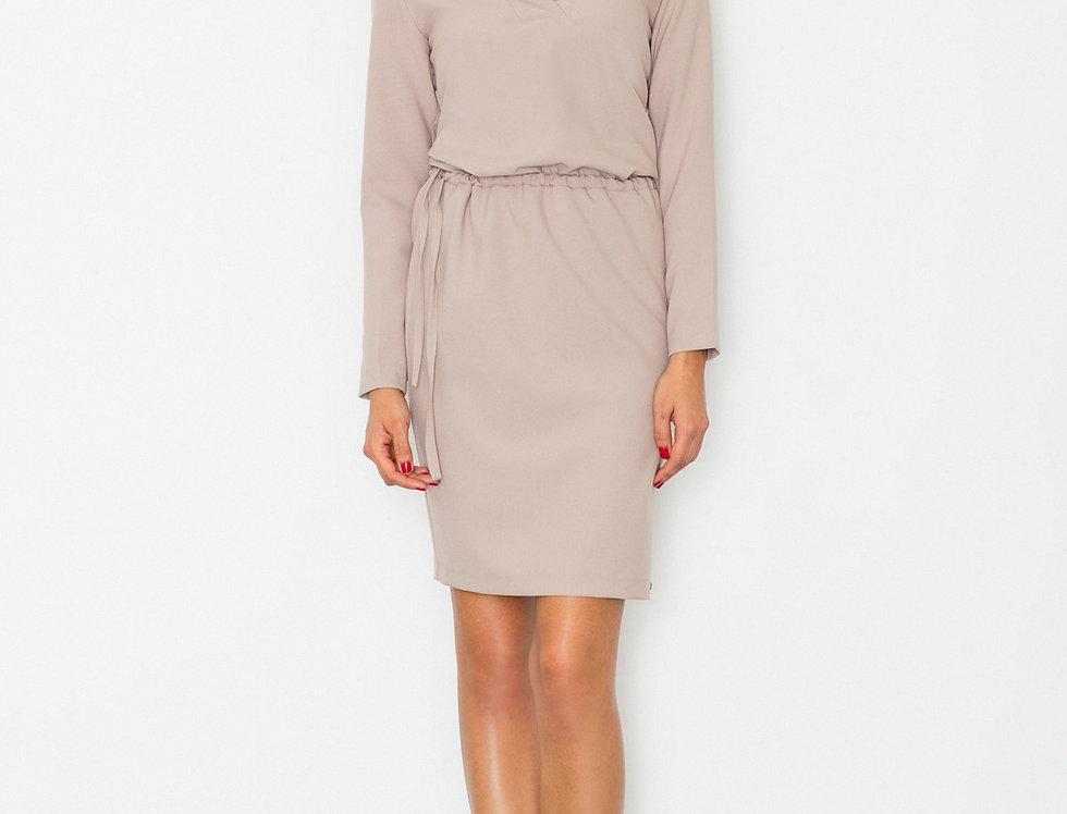 Dress M533 Beige