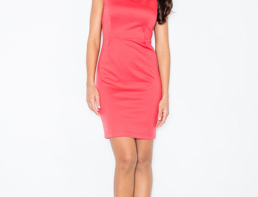 Dress M079 Coral