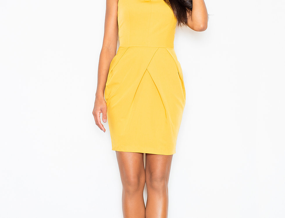 Dress M243 Yellow