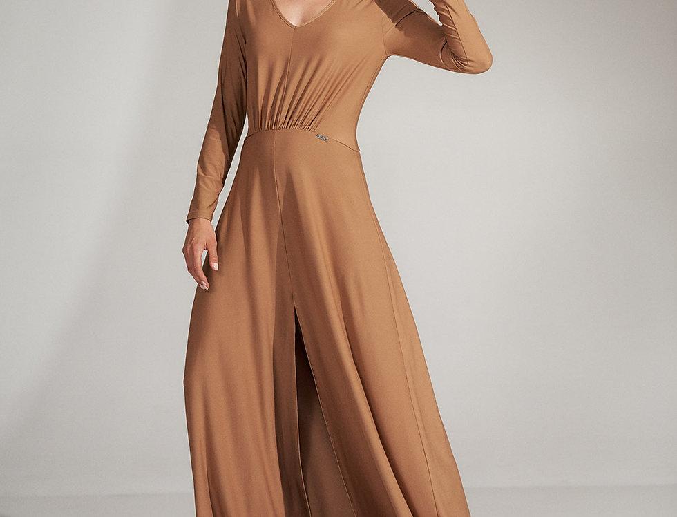 Dress M727 Beige