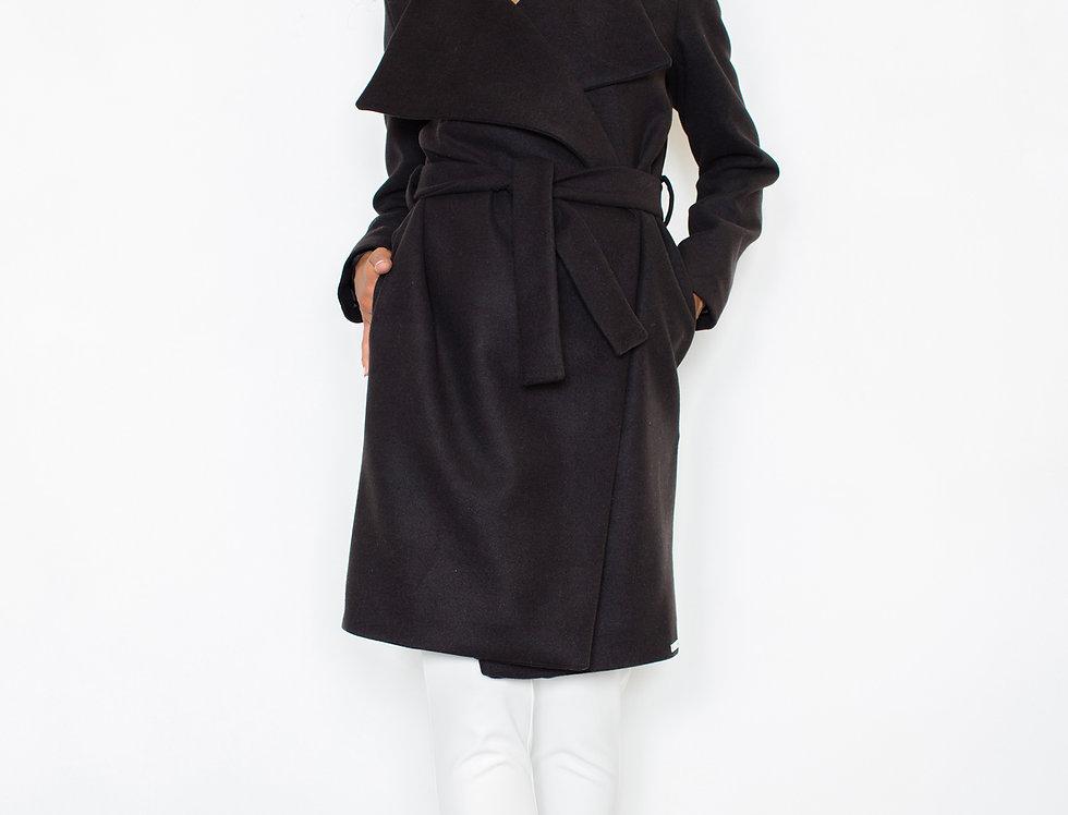 Coat M408 Black