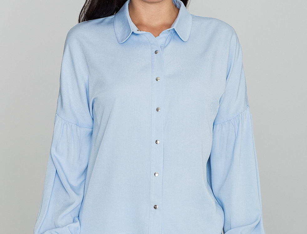 Shirt M582 Light Blue