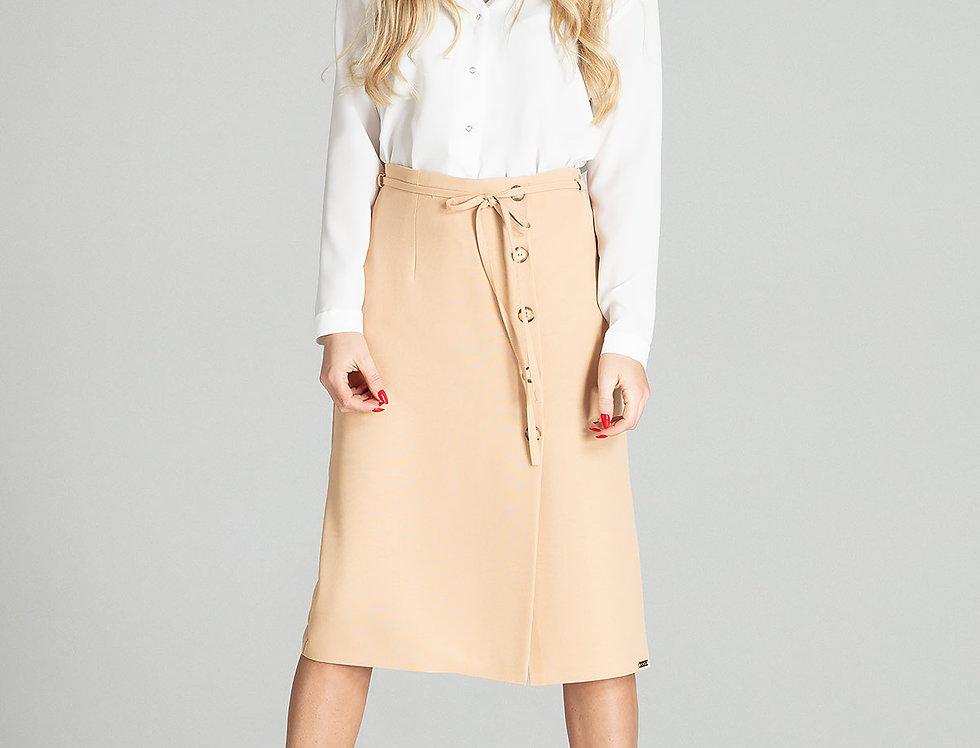 Skirt M697 Beige