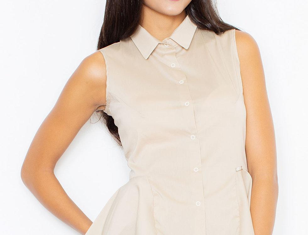 Shirt M357 Beige