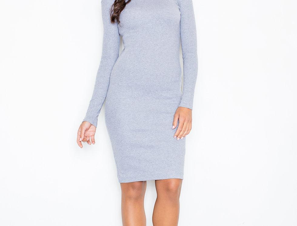 Dress M332 Grey