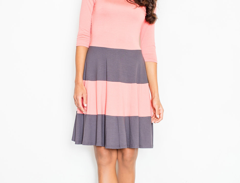 Dress M279 Coral
