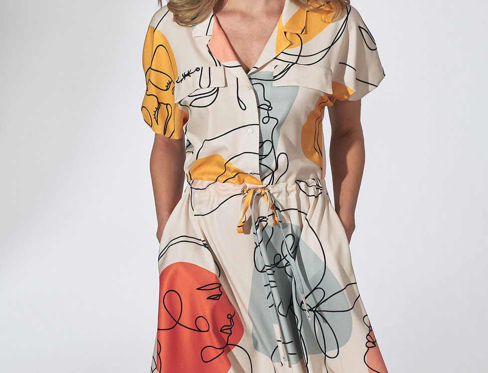 Dress M739 Pattern 123