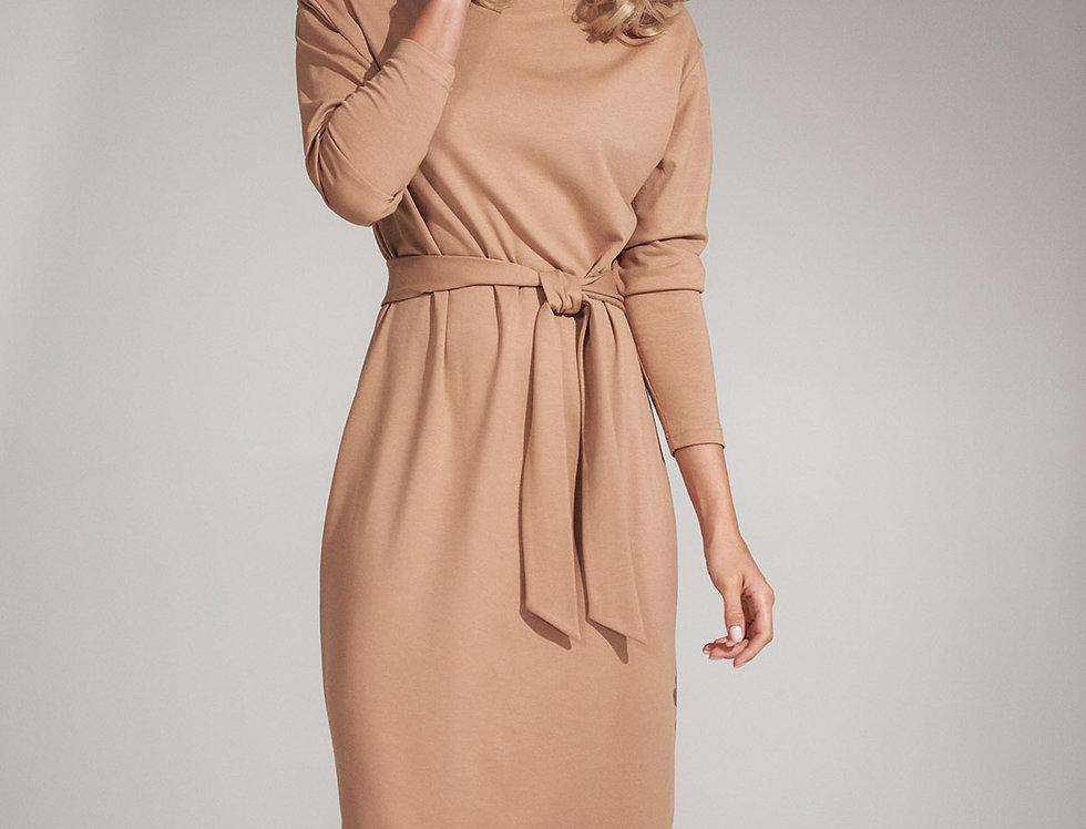 Dress M726 Beige