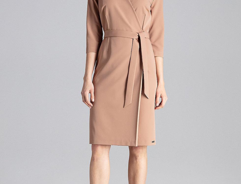 Dress M654 Brown