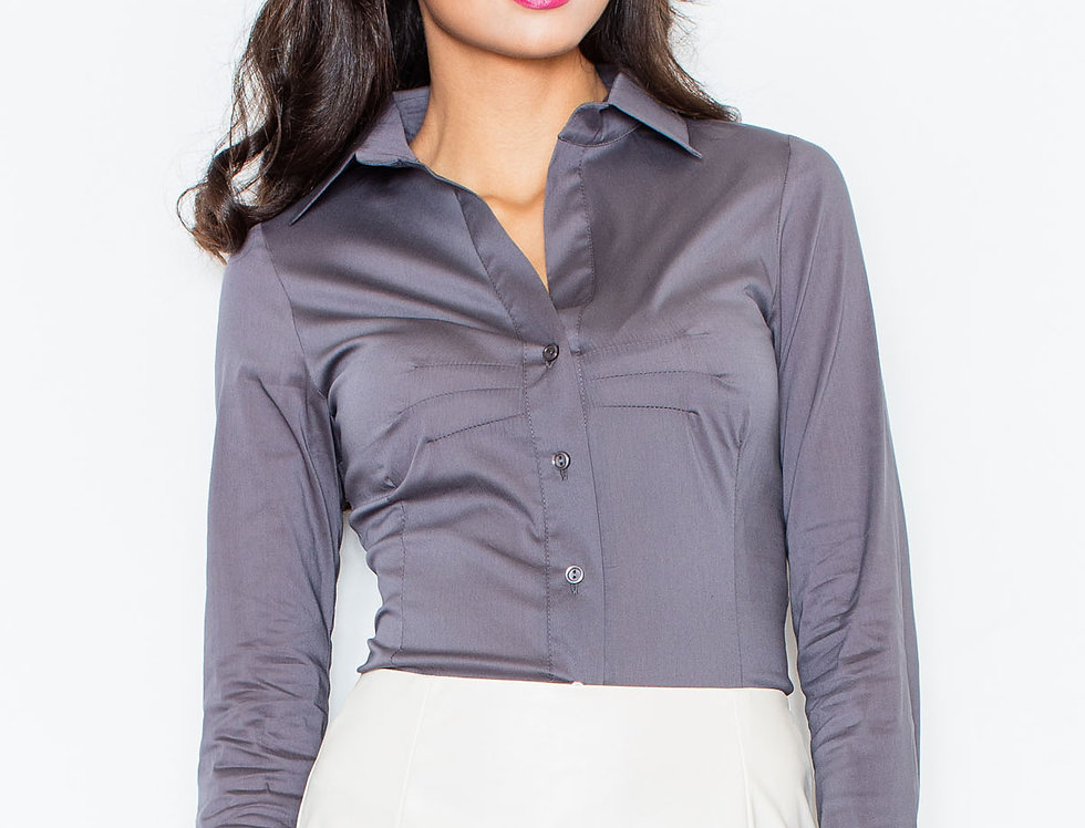 Shirt M021 Grey