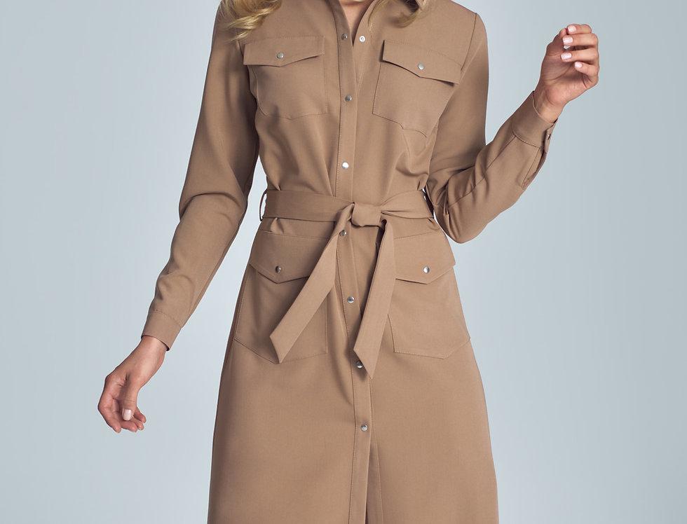 Dress M706 Brown