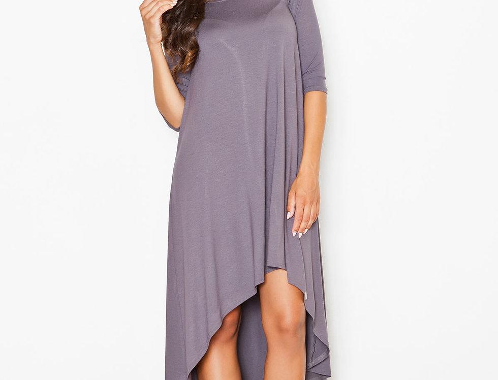 Dress M392 Gray Pattern 3