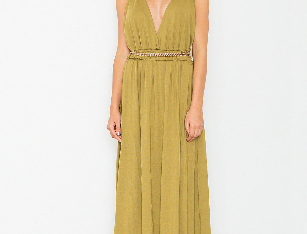 Dress M483 Olive