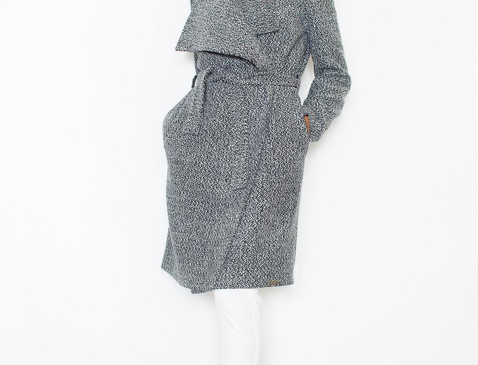 Coat M408 Grey