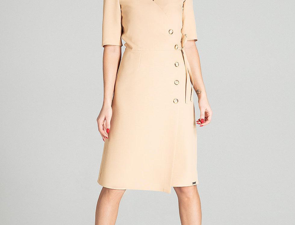 Dress M701 Beige