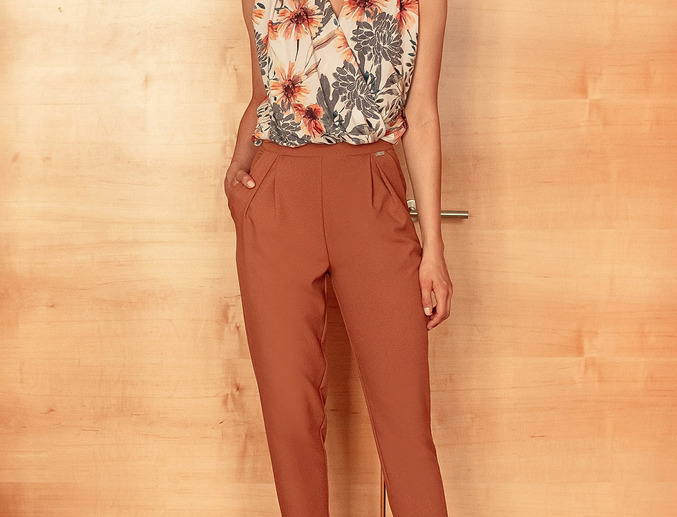 Trousers M676 Brown