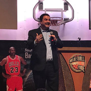 Danny gives the Keynote at the Basketball Hall of Fame