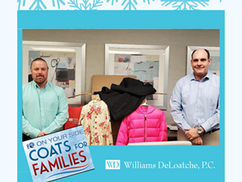 Collecting Coats for Local Families in Need