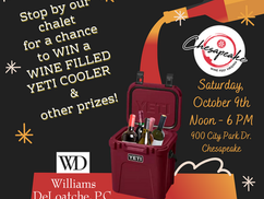 Today Is the Day - Chesapeake Wine Festival!