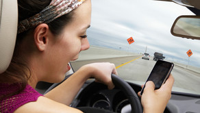 Phone Down! It's the Law! - Traffic Infraction if Caught Holding a Cell Phone While Driving in VA