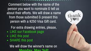 Nominate a Community COVID Hero