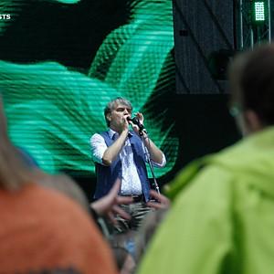 Līvas Ošenieces un Kārļa Miksona (LTV ziņu dienests) foto