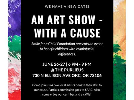 ART SHOW - New Date!
