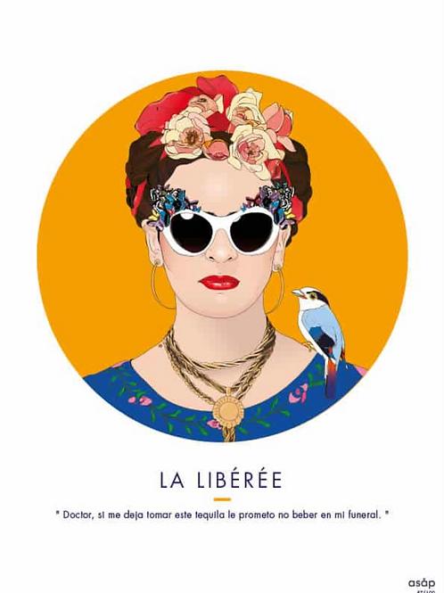 """Artprint """"La Libérée"""""""