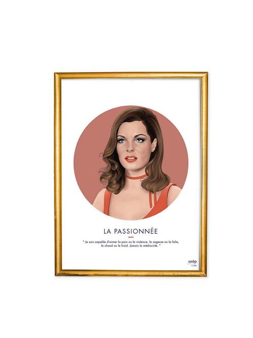 """Artprint """"La passionnée"""""""