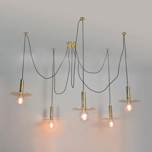 Suspension 5 lampes SPY