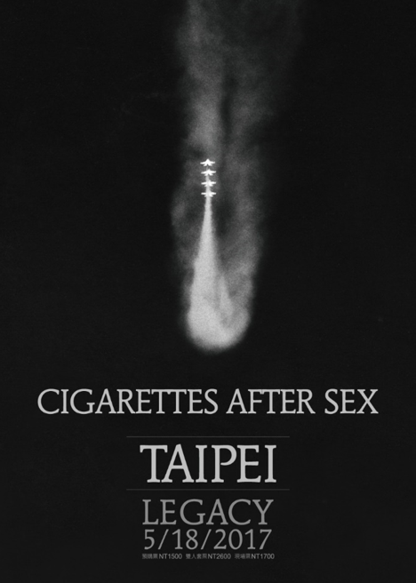 CIGARETTES AFTER SEX in Taipei