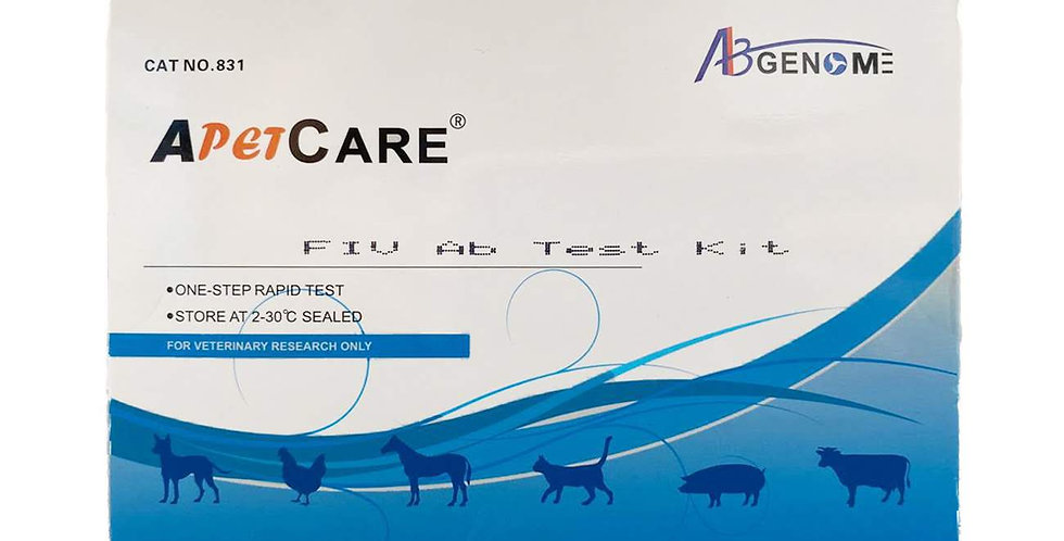 Feline Immunodeficiency Virus (FIV) Ab, 10 Test Kits.