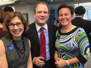Getting to Know my Colleagues at Regent Atlantic at their NYC Opening
