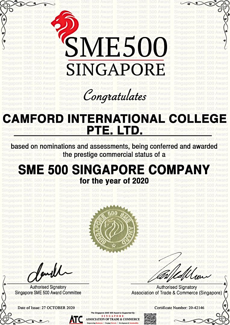 新加坡中小企业500强