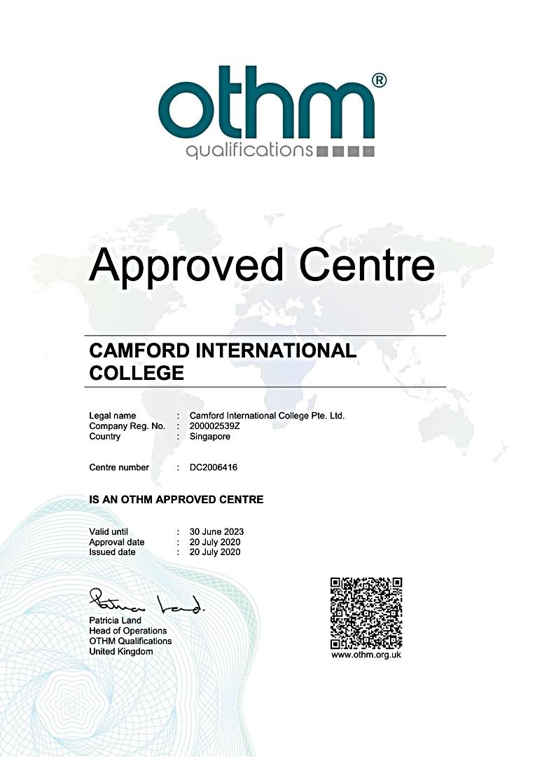荣获英国OTHM授权的学府