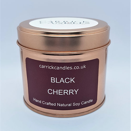 Black Cherry Soy Wax Candle