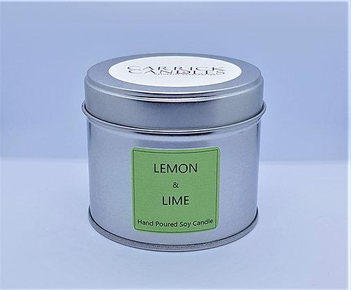 Lemon & Lime Soy Wax Candle