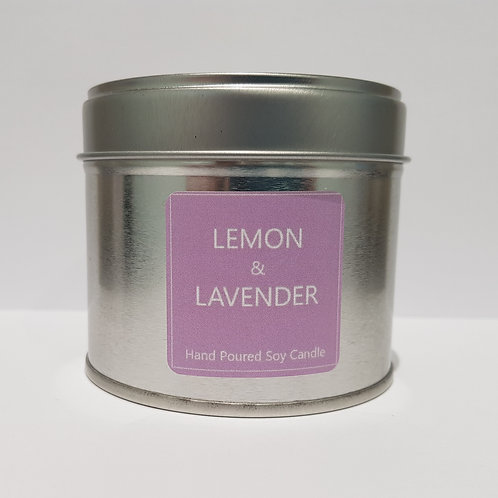 Lemon & Lavender Soy Wax Candle