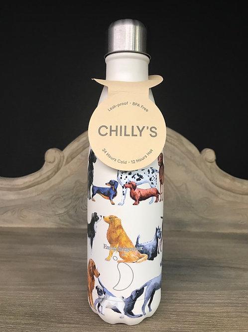 Chilly bottle met hondjes (Emma Bridgewater)