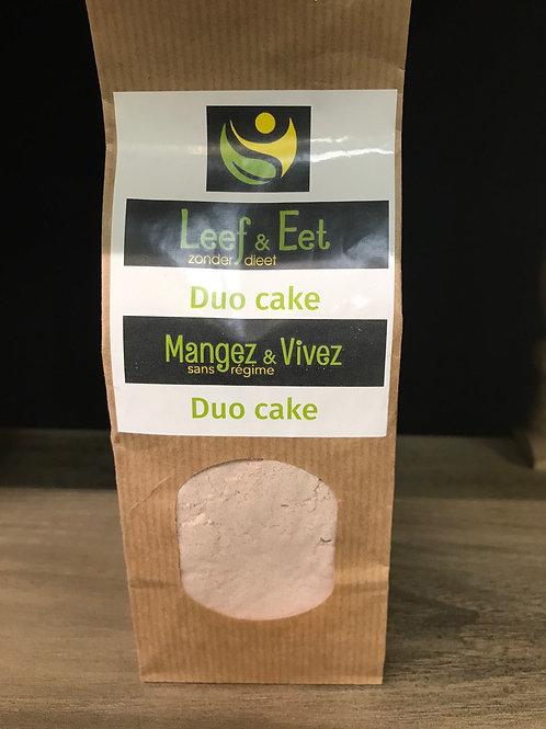 Duo cake klein - glutenvrij - koolhydraatarm - keto