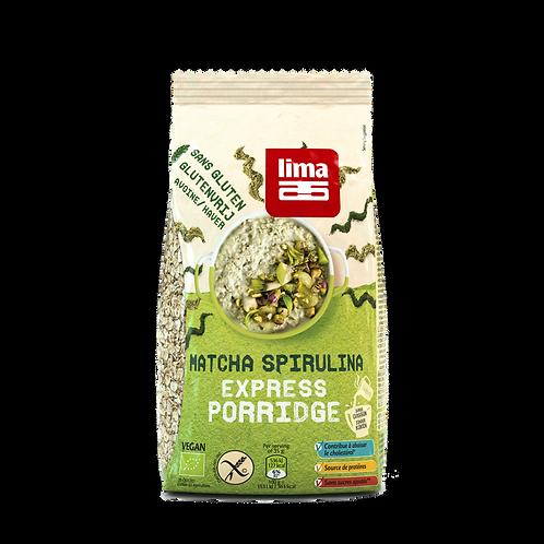 Lima Porridge Express Matcha Spirulina 350g