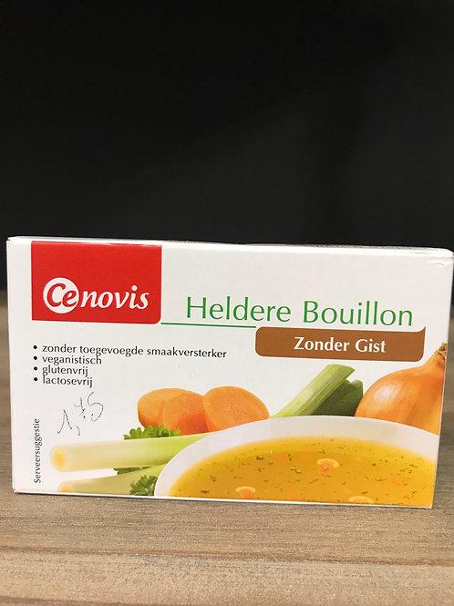 Heldere bouillon (zonder gist)