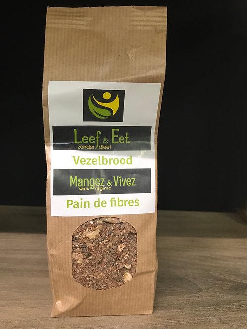 Vezelbrood klein - glutenvrij - koolhydraatarm - keto
