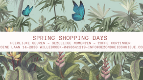 Spring Shopping Days Uitnodiging