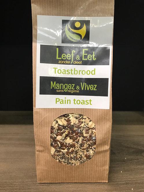 Toastbrood klein (glutenvrij)