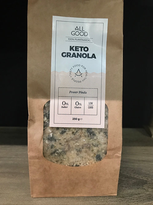 Keto granola (power pinda)
