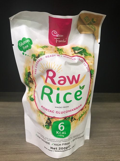 Konjac rijst - RawRijst