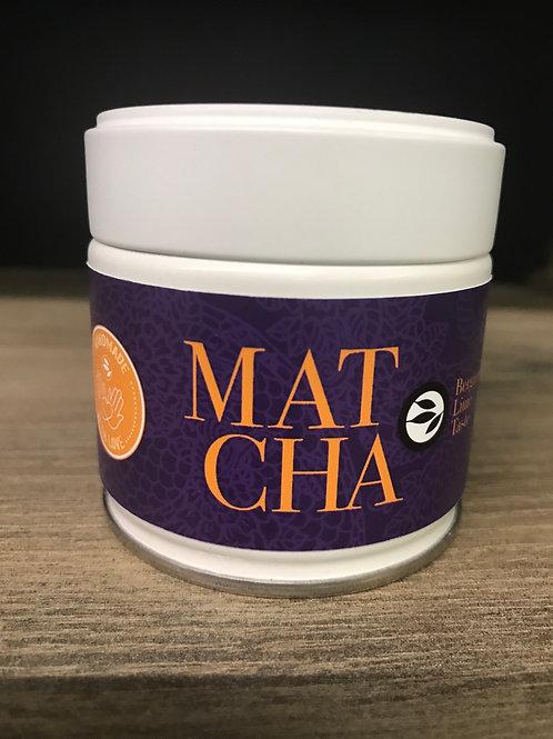 Matcha (Bergamott, lime taste)
