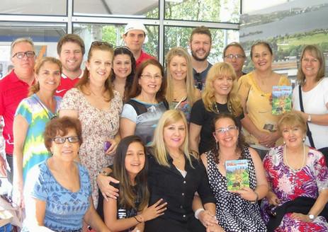 Feira do Livro de Porto Alegre- Bate-papo na Câmara dos Vereadores- Vereadora Lourdes Sprenger